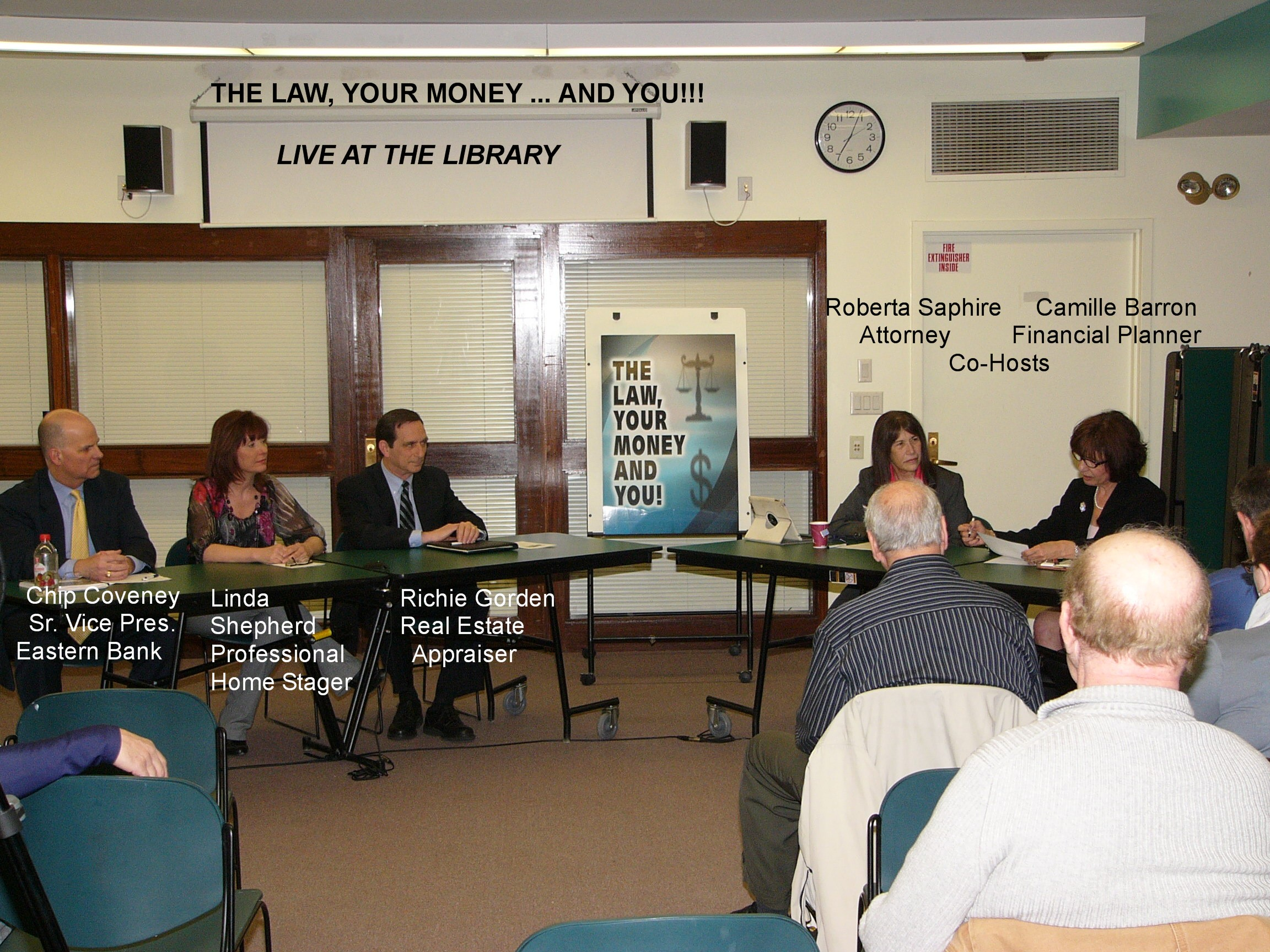 Real Estate Market Live at the Library